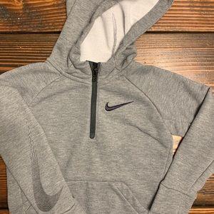 Boy's Nike hooded sweatshirt. Size 4T